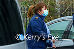 Garda Lisa O'Sullivan at Tralee Court on Monday.