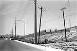 Empty road, Nevada USA. from On the Road Again published by Mansion Editions.2001,