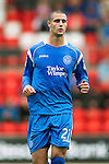 St Johnstone FC...Season 2010-11.Marcus Haber.Picture by Graeme Hart..Copyright Perthshire Picture Agency.Tel: 01738 623350  Mobile: 07990 594431