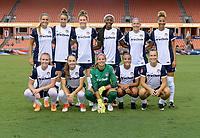 Houston, TX - Saturday July 15, 2017: Washington Spirit  Starting XI during a regular season National Women's Soccer League (NWSL) match between the Houston Dash and the Washington Spirit at BBVA Compass Stadium.