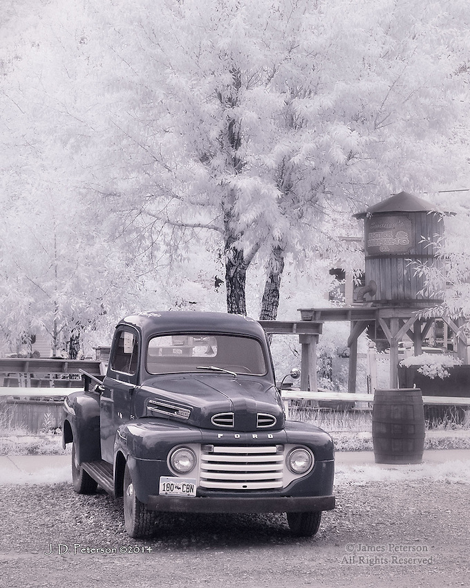 The Old Stalwart, Silverton, Colorado (Infrared)