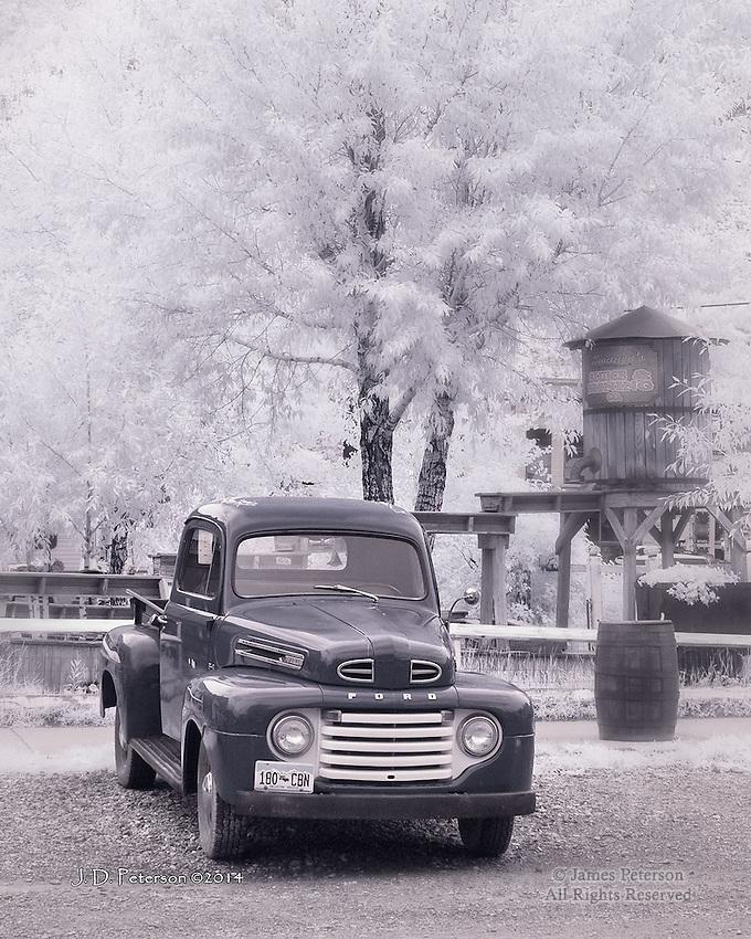 The Old Stalwart, Silverton, Colorado (Infrared)