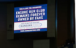 Rangers First advert at Ibrox