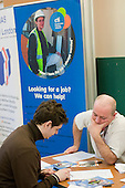 Jobs and training fair at Greenside Community Centre, Lisson Green Estate.