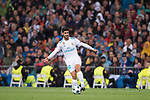 Marco Asensio Willemsen of Real Madrid in action during the UEFA Champions League 2017-18 match between Real Madrid and Tottenham Hotspur FC at Estadio Santiago Bernabeu on 17 October 2017 in Madrid, Spain. Photo by Diego Gonzalez / Power Sport Images