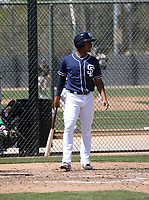 Aldemar Burgos - San Diego Padres 2019 spring training (Bill Mitchell)
