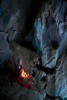 Buddhist Caves south of Phnom Penh, Cambodia