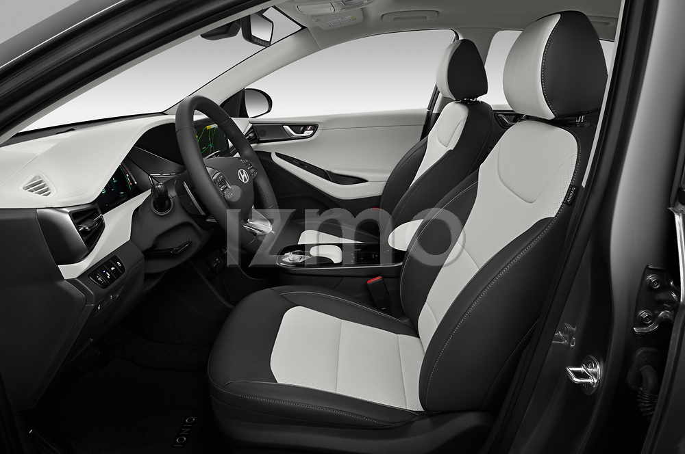 Front seat view of 2020 Hyundai Ioniq-Electric Limited 5 Door Hatchback Front Seat  car photos