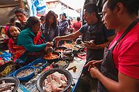 south America, Guatemala. Chichicastenango, market