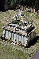 Fontana di Rosello (späte Renaissance) in Sassari,  Provinz Sassari, Nord - Sardinien, Italien