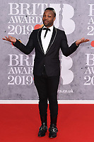 Todrick Hall<br /> arriving for the BRIT Awards 2019 at the O2 Arena, London<br /> <br /> ©Ash Knotek  D3482  20/02/2019<br /> <br /> *images for editorial use only*