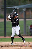 AZL White Sox right fielder Anthony Coronado (13) at bat during an Arizona League game against the AZL Diamondbacks at Camelback Ranch on July 12, 2018 in Glendale, Arizona. The AZL Diamondbacks defeated the AZL White Sox 5-1. (Zachary Lucy/Four Seam Images)