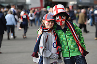 Young fans getting ready ahead of the RBS 6 Nations match between England and Scotland at Twickenham Stadium on Saturday 11th March 2017 (Photo by Rob Munro/Stewart Communications)