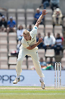 Kyle Jamieson, New Zealand bowls from the pavilion end during India vs New Zealand, ICC World Test Championship Final Cricket at The Hampshire Bowl on 23rd June 2021