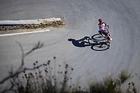 Thomas De Gendt (BEL/Lotto Soudal) descending Col de Turini<br /> <br /> 107th Tour de France 2020 (2.UWT)<br /> (the 'postponed edition' held in september)<br /> Stage 2 from Nice to Nice 186km<br /> ©kramon