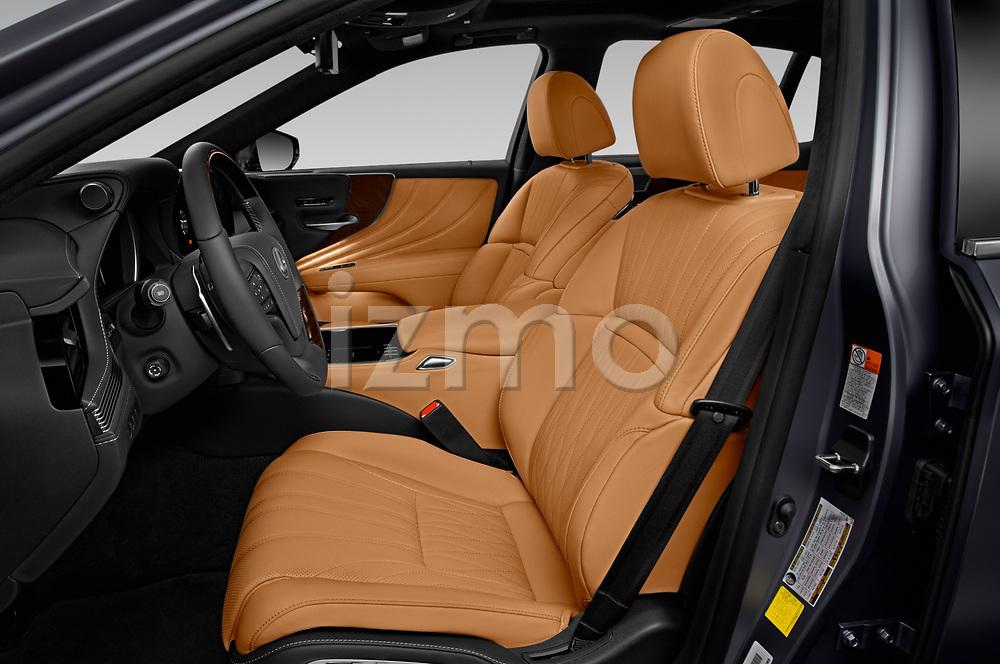 Front seat view of 2021 Lexus LS 500 4 Door Sedan Front Seat  car photos