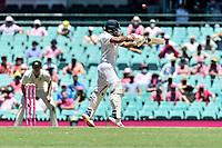 9th January 2021; Sydney Cricket Ground, Sydney, New South Wales, Australia; International Test Cricket, Third Test Day Three, Australia versus India; Manish Pandey of India batting