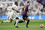 Real Madrid CF's Vinicius Junior and FC Barcelona's Ivan Rakitic during La Liga match. March 02,2019. (ALTERPHOTOS/Alconada)
