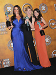 Sofia Vergara,Julie Bowen and Sarah Hyland attends the 17th Annual Screen Actors Guild Awards held at The Shrine Auditorium in Los Angeles, California on January 30,2011                                                                               © 2010 DVS / Hollywood Press Agency