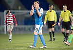 St Johnstone v Hamilton Accies…28.03.18…  McDiarmid Park    SPFL<br />Liam Craig appluds the fans at full time<br />Picture by Graeme Hart. <br />Copyright Perthshire Picture Agency<br />Tel: 01738 623350  Mobile: 07990 594431