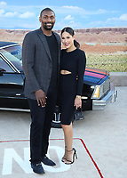 "WESTWOOD, CA - OCT 7: Metta World Peace and Maya Ford at the premiere Of Netflix's ""El Camino: A Breaking Bad Movie"" at the Regency Village Theatre on October 7. 2019 in Westwood, California. (Photo by Xavier Collin/PictureGroup)"