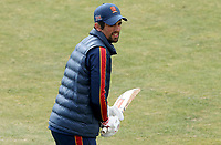 Sir Alastair Cook of Essex warms up prior to Essex CCC vs Durham CCC, LV Insurance County Championship Group 1 Cricket at The Cloudfm County Ground on 15th April 2021