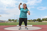Tokyo 2020 - Preview / Claire Keffer<br /> Athletics (field) training camp QLD at the BLK Athletics Centre - Runaway Bay QLD<br /> Friday 11 Oct 2019 Paralympics Australia<br /> © STL / Jeff Crow / Paralympics Australia