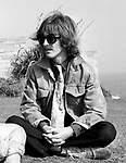 The Beatles George Harrison during  Magical Mystery Tour Sep 1967 at the Atlantic Hotel in Newquay, Cornwall..© Chris Walter..