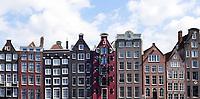 Nederland Amsterdam 2020. Grachtenpanden.  Foto Berlinda van Dam / Hollandse Hoogte