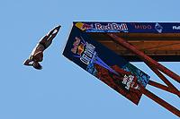 12th June 2021, Saint-Raphaël, Provence-Alpes-Côte d'Azur, France; Red Bull Cliff Diving competition;  David COLTURI (USA)