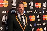 Jean de Villiers of South Africa at the World Rugby Awards 2015  - 01/11/2015 - Battersea Evolution, London<br /> Mandatory Credit: Rob Munro/Stewart Communications