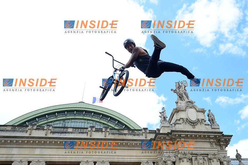 BMX <br /> Parigi 23-06-2017 <br /> Manifestazione in favore della candidatura olimpica di Parigi per il 2024 <br /> Foto JB Autissier / Panoramic / Insidefoto