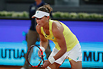 Samantha Stosur from Australia  during her Madrid Open tennis tournament match against Svetlana Kuznetsova from Russia in Madrid, Spain. May 06, 2015. (ALTERPHOTOS/Victor Blanco)