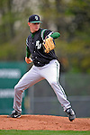 2 May 2008: Binghamton University Bearcats' pitcher Zachary Groh, a Senior from Reading, PA, on the mound against the University of Vermont Catamounts at Historic Centennial Field in Burlington, Vermont. The Catamounts defeated the Bearcats 6-2 in the first game of their weekend series...Mandatory Photo Credit: Ed Wolfstein Photo