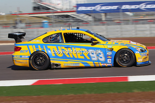 Michael Marsal (93),  Driver of Turner Motorsport BMW M3 in action during the Grand-Am of the Americas practice and qualifying sessions at the Circuit of the Americas race track in Austin,Texas...