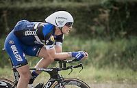 Marcel Kittel (DEU/Etixx-QuickStep) during TTT recon<br /> <br /> 12th Eneco Tour 2016 (UCI World Tour)<br /> stage 5 (TTT) Sittard-Sittard (20.9km) / The Netherlands