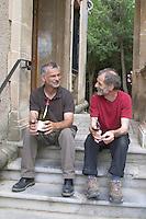 Thierry and Pierre Parce. Domaine de la Rectorie, Banyuls, Roussillon, France