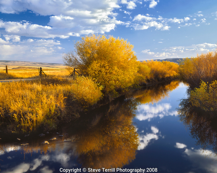 Donner und Blitzen River in Malheur National Wildlife Refuge in Harney County, Oregon