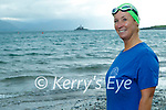 Caroline Corkery from Tralee, who only learned to swim in 2019, will swim across the Bay from Fenit to Derrymore on Saturday August 14th as a fundraiser for both the Fenit RNLI and the Baile Mhuire Day Care Centre in Tralee.