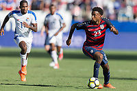 Nashville, TN - Saturday July 08, 2017: Kellyn Acosta during a 2017 Gold Cup match between the men's national teams of the United States (USA) and Panama (PAN) at Nissan Stadium.