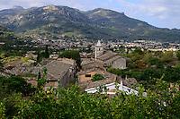 SPAIN Mallorca, Soller, farming in the mountains, orange trees / SPANIEN Mallorca, Soller, Landwirtschaft in den Bergen, Orangen