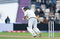 Virat Kohli, India clips the ball behind square for runs during India vs New Zealand, ICC World Test Championship Final Cricket at The Hampshire Bowl on 19th June 2021