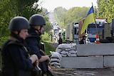 Ukrainische Kräfte kesseln Slowjansk ein