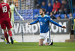 St Johnstone v AberdeenÖ23.02.19Ö  McDiarmid Park    SPFL<br /> A frustrated Murray Davidson<br /> Picture by Graeme Hart. <br /> Copyright Perthshire Picture Agency<br /> Tel: 01738 623350  Mobile: 07990 594431