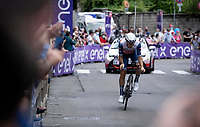 Matteo Moschetti (ITA/trek-Segafredo)<br /> <br /> 104th Giro d'Italia 2021 (2.UWT)<br /> Stage 21 (final ITT) from Senago to Milan (30.3km)<br /> <br /> ©kramon