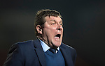 St Johnstone v Inverness Caley Thistle…03.12.16   McDiarmid Park..     SPFL<br />Tommy Wright screams at the ref after ignoring the penalty claim for Richie Foster<br />Picture by Graeme Hart.<br />Copyright Perthshire Picture Agency<br />Tel: 01738 623350  Mobile: 07990 594431