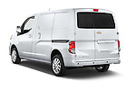 Car pictures of rear three quarter view of2017 Chevrolet City Express LT 5 Door Cargo Van Angular Rear