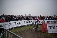 Mathieu Van der Poel (NED/Beobank-Corendon)<br /> <br /> men's elite race<br /> CX Superprestige Noordzeecross <br /> Middelkerke / Belgium 2017