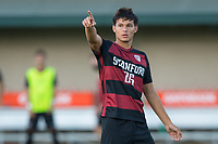 AND, A - SEPTEMBER 11: Noah Adnan during a game between San Jose State and Stanford University at And on September 11, 2021 in And, A.