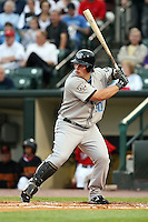 August 28 2008:  Travis Snider of the Syracuse Chiefs, Class-AAA affiliate of the Toronto Blue Jays, during a game at Frontier Field in Rochester, NY.  Photo by:  Mike Janes/Four Seam Images